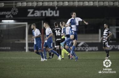 El CE Sabadell abandona el descenso tras una gran remontada ante el FC Cartagena (1-2) | Foto: LaLiga