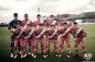 Jugadores del Juvenil A posando para la foto grupal   Fotografía: Rayo Vallecano S.A.D.