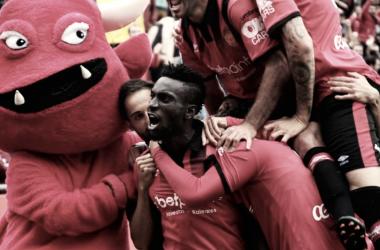 La peleaporentrar en el 'playoff' es más dura que nunca | Foto: RCD Mallorca