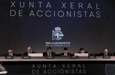 Junta General de Accionistas del año 2017 // RCDeportivo