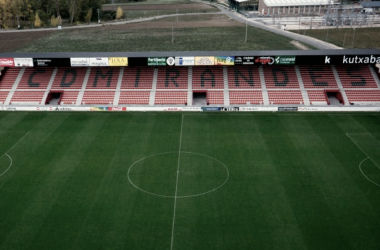 Estadio Municipal de Anduva. Foto: CD Mirandés