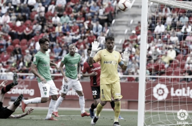 La UD Almería plantó muy buena imagen a pesar de la derrota por la mínima en Son Moix. Fuente: UD Almería