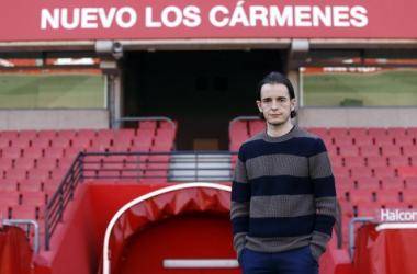 David Tenorio seguirá como entrenador del Recreativo Granada una temporada más | Foto: Pepe Villoslada /Granada CF