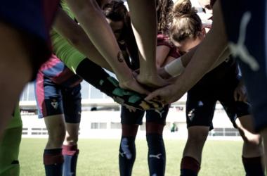 Un gol separa a las guipuzcoanas de semifinales. Foto: SD Eibar.