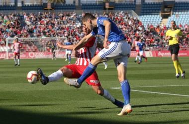 El Almería debe volver a la senda de la victoria si quiere seguir vivo en la lucha por los puestos de playoff. Fuente:UD Almería