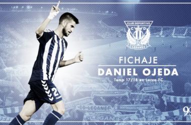 Dani Ojeda ficha por el Leganés. | Foto: cdleganes.com