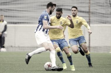 Benito jugando en Las Palmas atlético | Foto: www.udlaspalmas.es