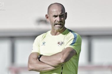 Paco Jémez en un entrenamiento | Foto: Rayo Vallecano S.A.D.