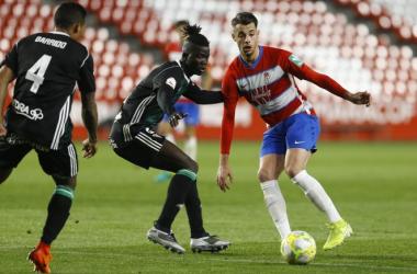 Rubén Sánchez en un partido anterior | Foto: Granada CF