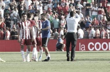 UD Almería - Cádiz CF: puntuaciones de la UD Almería en la 8ª jornada de LaLiga Smartbank