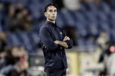 Paquito Ortiz en el Estadio de Gran Canaria | Foto: UD Las Palmas