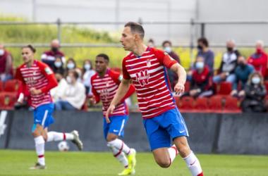 Migue García, en el último partido del Recreativo Granada | Foto: Granada CF