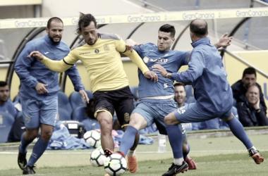 Las Palmas gana a un aspirante a Tercera