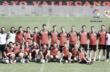 Plantilla del Rayo Vallecano genuino | Fotografía: La Liga