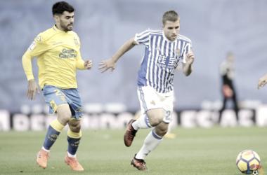 Real Sociedad - UD Las Palmas: puntuaciones de la UD Las Palmas jornada 13 LaLiga