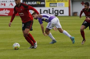 CD Mirandés - Real Valladolid: puntuaciones del Real Valladolid, jornada 31