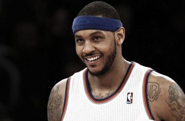 """Carmelo Anthony: """"La recuperación va bien"""""""