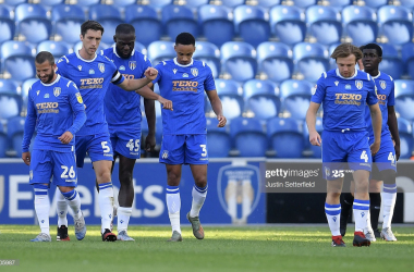 Colchester United Vs Exeter City: The Warm Down