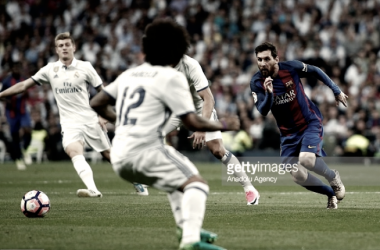 Messi esmaga Real Madrid.
