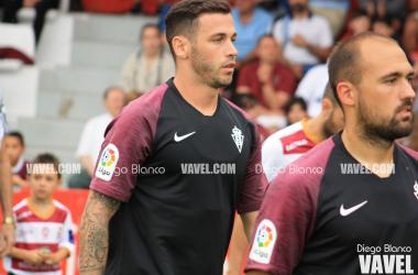 Álvaro Vázquez y Unai Medina. || Imagen: Diego Blanco (VAVEL)