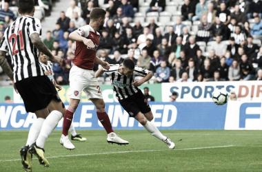 Arsenal y Newcastle en uno de sus últimos enfrentamientos / Foto: Premier League