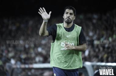 Luis Suárez en el Gamper ante el Arsenal   Foto: Noelia Déniz (VAVEL)