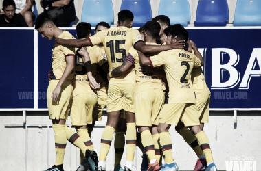 Estreno exitoso del Barça B en Badalona