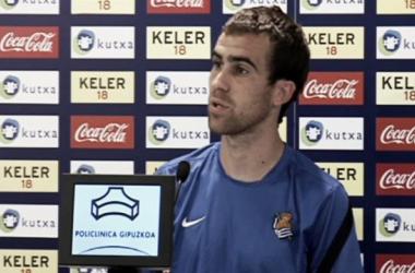 """Mikel González: """"Hemos disfrutado jugando una competición como la Champions"""""""