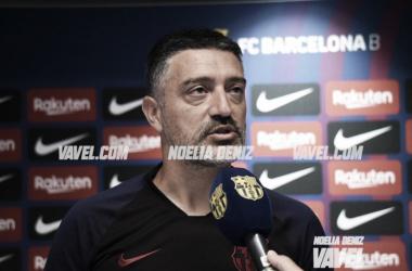 """García Pimienta: """"Estamos muy orgullosos de inaugurar el estadio"""""""