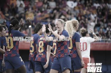 El Barça Femenino sigue su viaje por Europa imbatidas en el Johan Cruyff