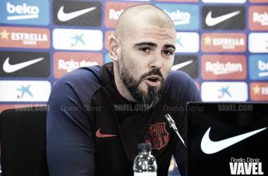 """Valdés: """"Hay que saber mantener la intensidad los 90 minutos"""""""