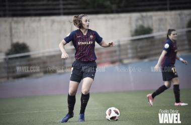 Alexia Putellas durante un partido | Foto de Noelia Déniz, VAVEL