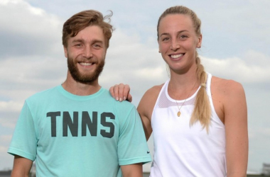 Liam and Naomi Broady were both victorious in their respective finals on the ITF Professional Circuit. | Photo: Andy Hooper
