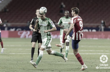 El Real Betis busca recuperar sensaciones