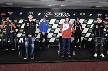 Reuda de PrensaGP de Portugal 2021 / Fuente: MotoGP