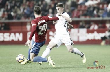 Imágen del encuentro entre Real Sporting y Real Zaragoza en la 2017-2018 / Fto: vavel.com