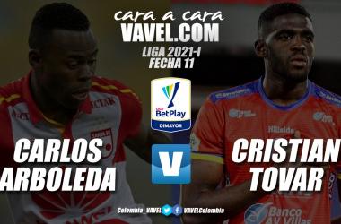Cara a cara: Carlos Arboleda vs. Cristian Tovar