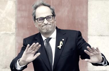 La abstención de la CUP le da la presidencia a Quim Torra / FOTO: EFE