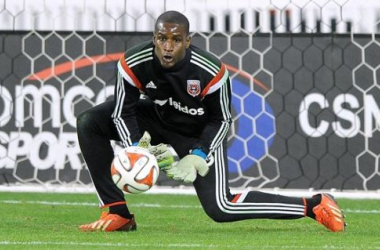 DC United goalkeeper Bill Hamid will need to turn in the best performance of his career against the New York Red Bulls on Sunday to give DCU the slimmest of chances of advancing to the Eastern Conference Finals. Photo provided by Jose Argueta-ETL.