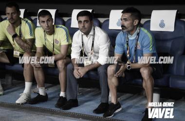 David Gallego en la estrena del Espanyol ante el Ferencvárosi   Foto: Noelia Déniz (VAVEL)