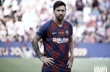 Messi, líder del Barça. FOTO: Noelia Déniz
