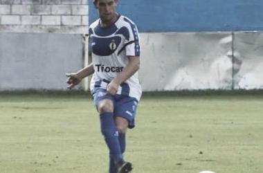 Borja Granda, en una acción de esta campaña. Foto cedida por el jugador.