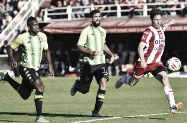Último encuentro disputado entre Unión y Aldosivi en Santa Fe.