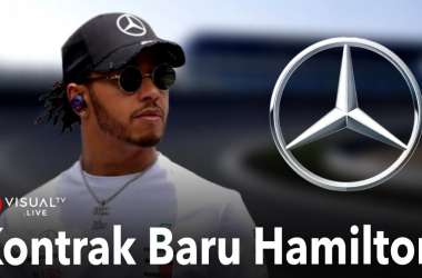 Hamilton Tetap Balapan Bersama Mercedes