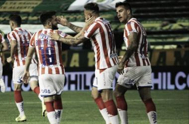 El Tatengue rompió la racha de partidos sin ganar como visitante en la Superliga. Foto: Twitter oficial de Unión.