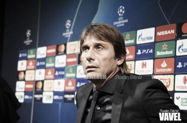 Antonio Conte, entrenador del Inter de Milán. FOTO: Noelia Déniz