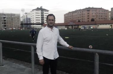 José Moro, en las instalaciones del Díaz Vega. Foto cedida por el protagonista.