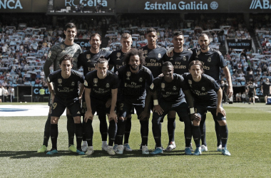 RC.Celta - R.Madrid: puntuaciones del Real Madrid en la jornada 1 de LaLiga Santander