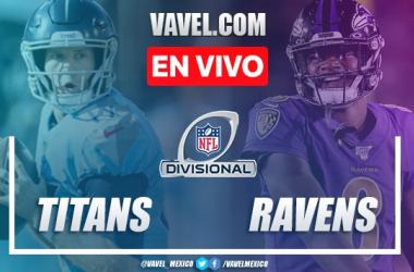 Resumen y touchdowns: Tennessee Titans 28 - 12 Baltimore Ravens en NFL Divisional 2020
