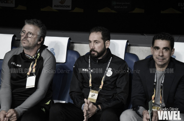 Pablo Machín ante el Ludogorets   Foto: Noelia Déniz (VAVEL)